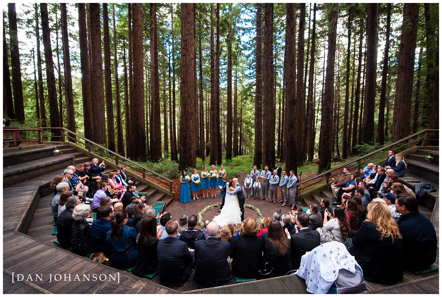 Cassia + Dustin - Another majestic wedding in the Redwood Groves ...