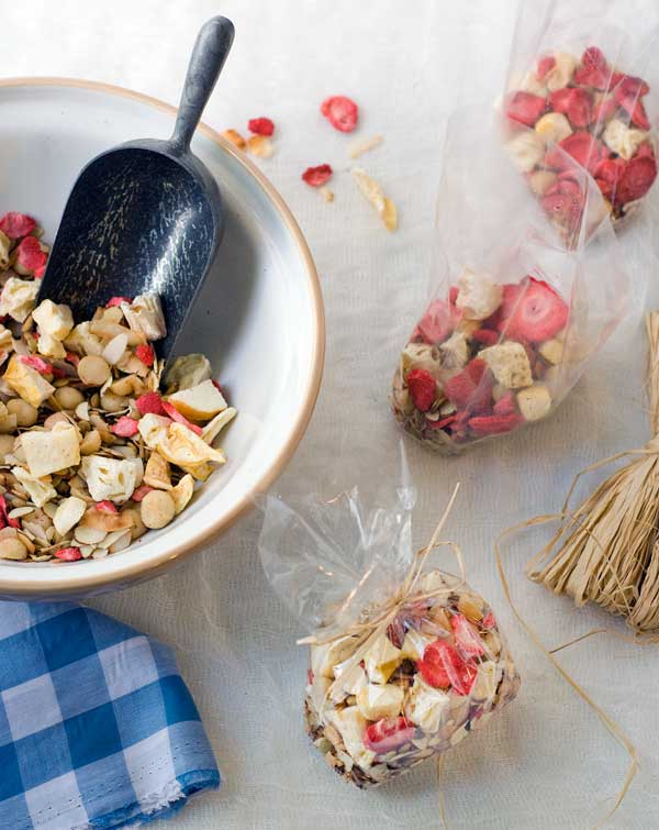 Photo: Gluten Free Tropical Trail Mix Recipe  byCarol Kiciski of Simply Gluten-Free Magazine