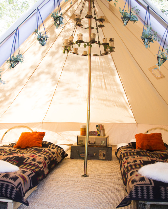 Bell Tent Decor Entrancing Review Canvas Bell Tent Was The Bell Of The Ball At Recent 2018
