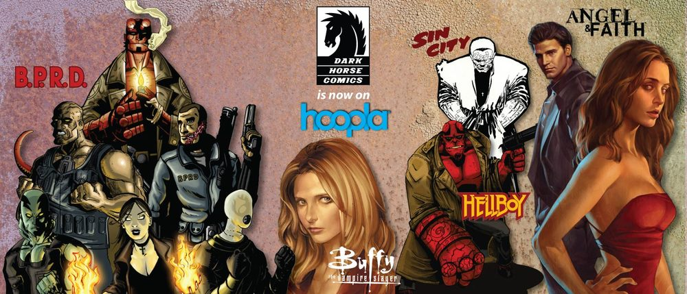To access a Dark Horse Comics flyer for your library, click on the above image.