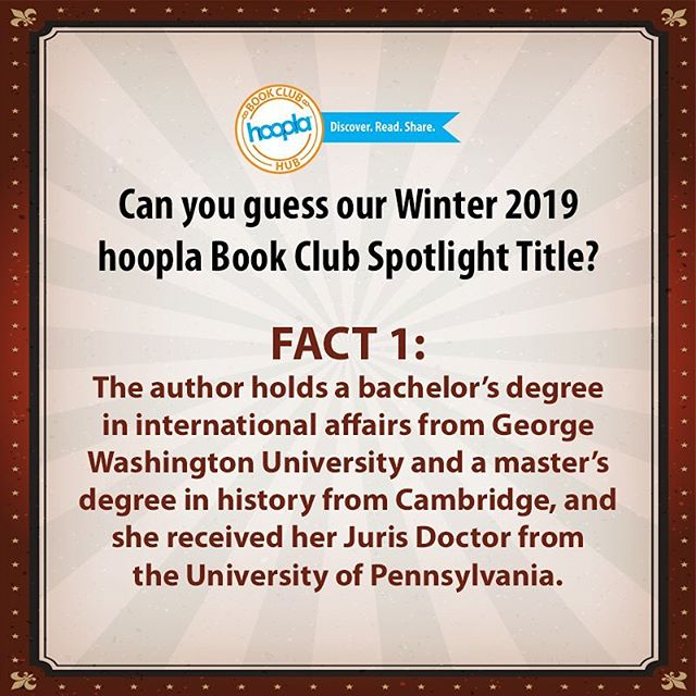 Can you guess the next #hooplabookclub spotlight title!? We're really excited to announce it! Stay tuned for more hints and the announcement in the new year! • • • #bookclub #bookstagram #bookaddict #bookishlife #bookworm