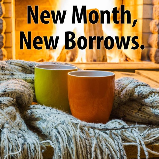 Happy 2019! Start your new year with some new music, books, and more on #hoopla! #NewMonth #NewBorrows