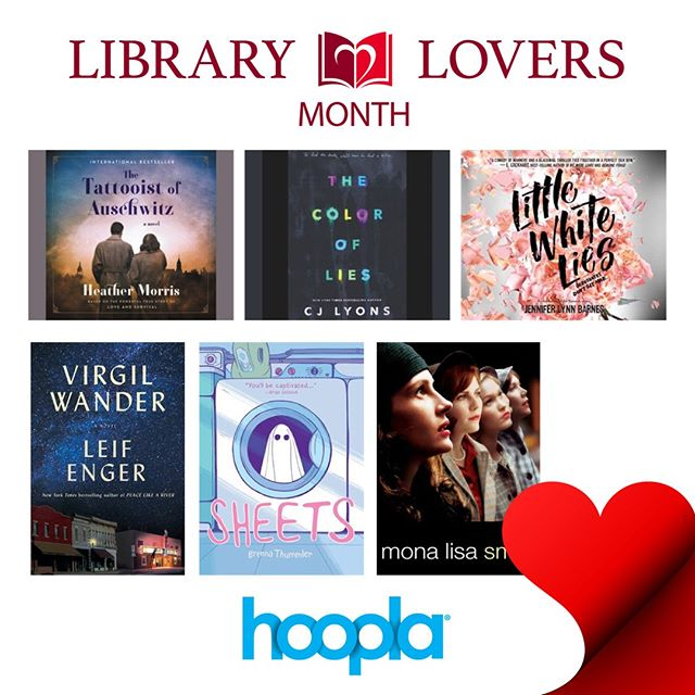 February is #LibraryLoversMonth! How are you showing love to your #library?? #lovelibraries #bookstagram #librariesofinstagram