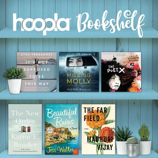 Looking for some recommendations for your #tbr list? Check out some of our favorite #ebooks and #audiobooks in this month's #hooplabookshelf!  #bookstagram #bookshelf #bookworm #bookish #bookaholic