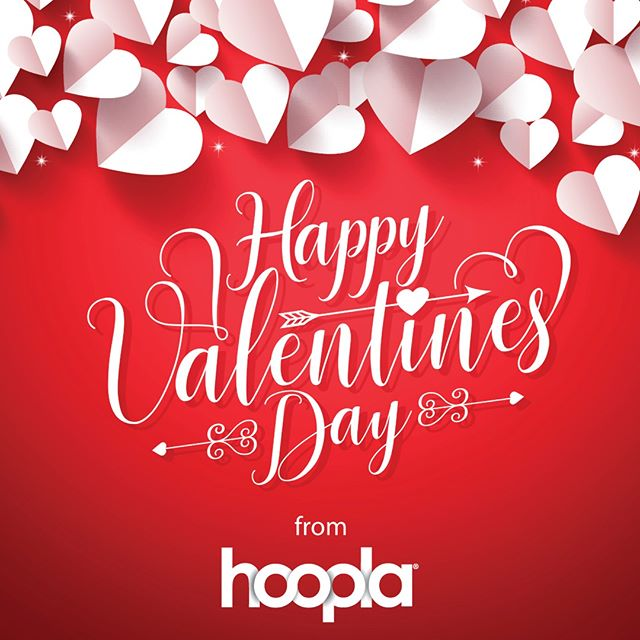 Happy #ValentinesDay from all of us here at #hoopla! 😍❤️💓💕 #booklove #welovebooks #bibliophile
