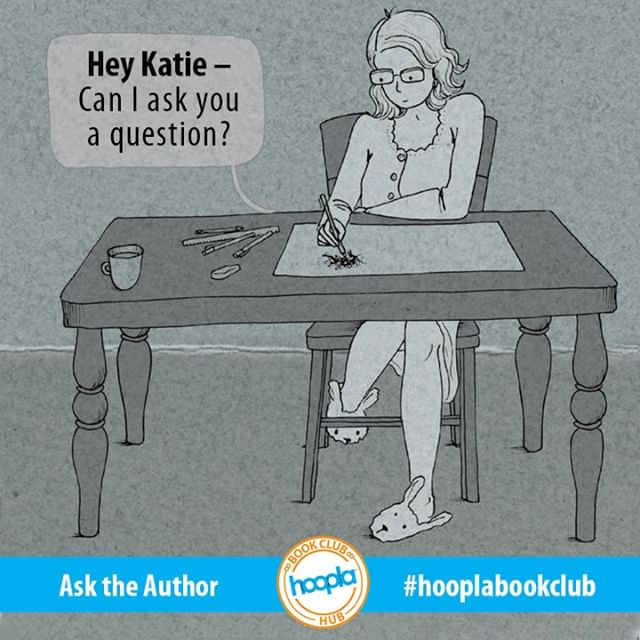 Have you read LIGHTER THAN MY SHADOW? Now's your chance to ask @KatieGreenBean a question! What would you like to know?  @lionforge #hooplabookclub #asktheauthor #comics #comicsonhoopla #graphicnovels #instadraw