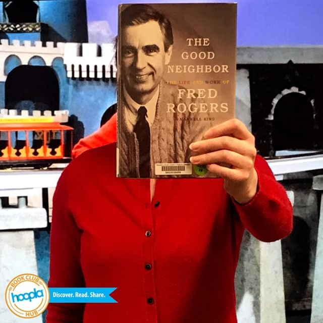 Happy Friday! This #bookfacefriday honors the great #FredRogers.  #hooplabookclub #bookish #bookclub #MisterRogersNeighborhood