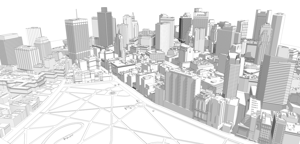3D Model of Boston
