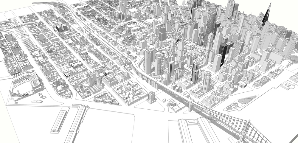3D Model of San Francisco