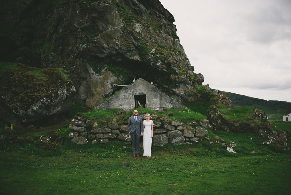 wedding iceland vik