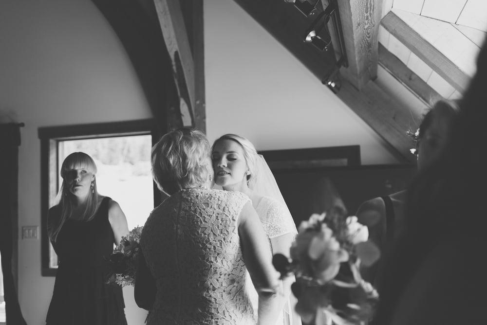 Bird's Eye Cove wedding photography