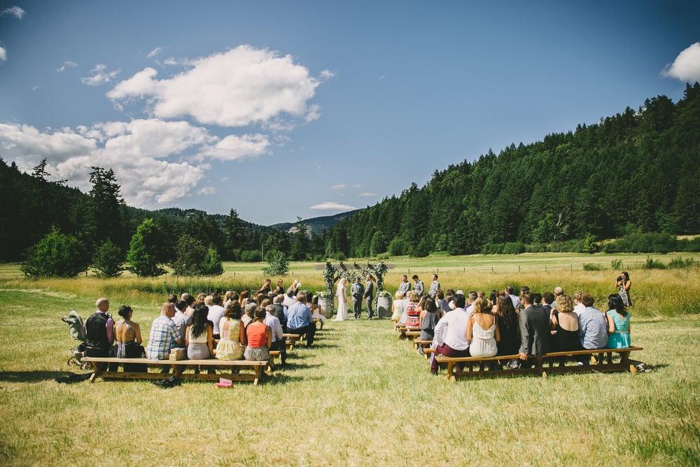 Wedding Vancouver Island