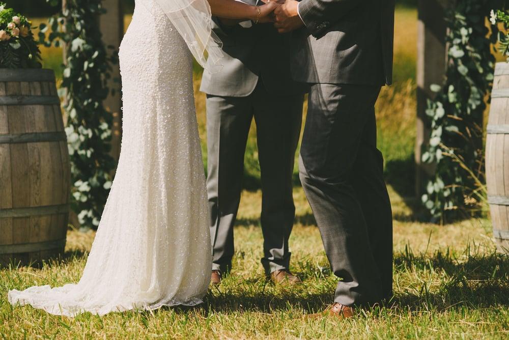 bird's eye cove wedding