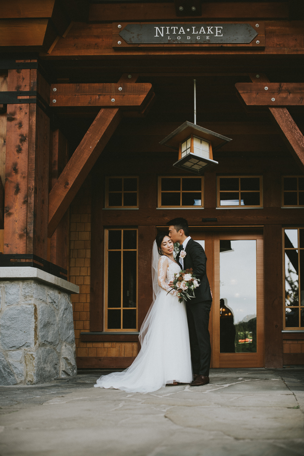 Nita Lake Lodge wedding