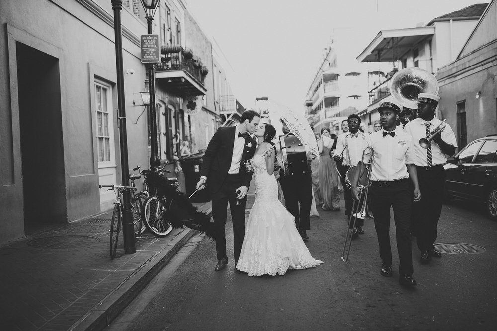 New Orleans Wedding Secondline Photographer