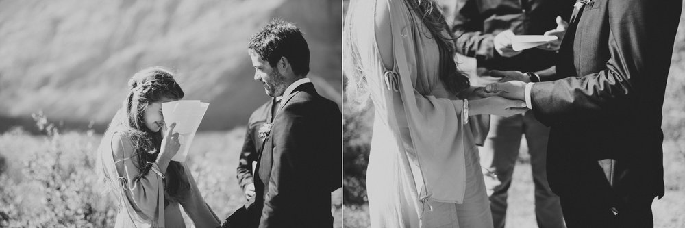 candid rings exchange kananaskis elopement