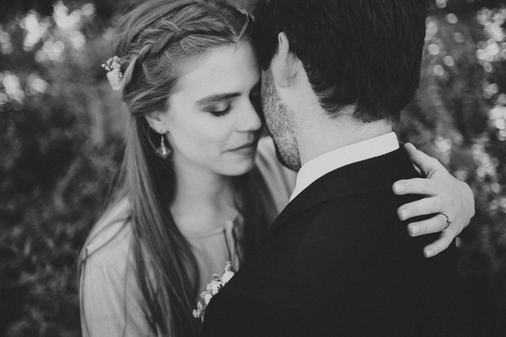 bride groom portrait intimate kananaskis elopement