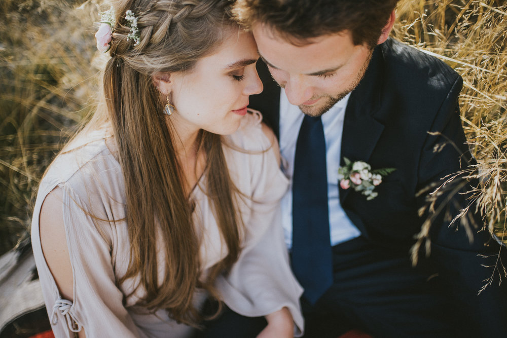 bride groom portrait elopement kananaskis