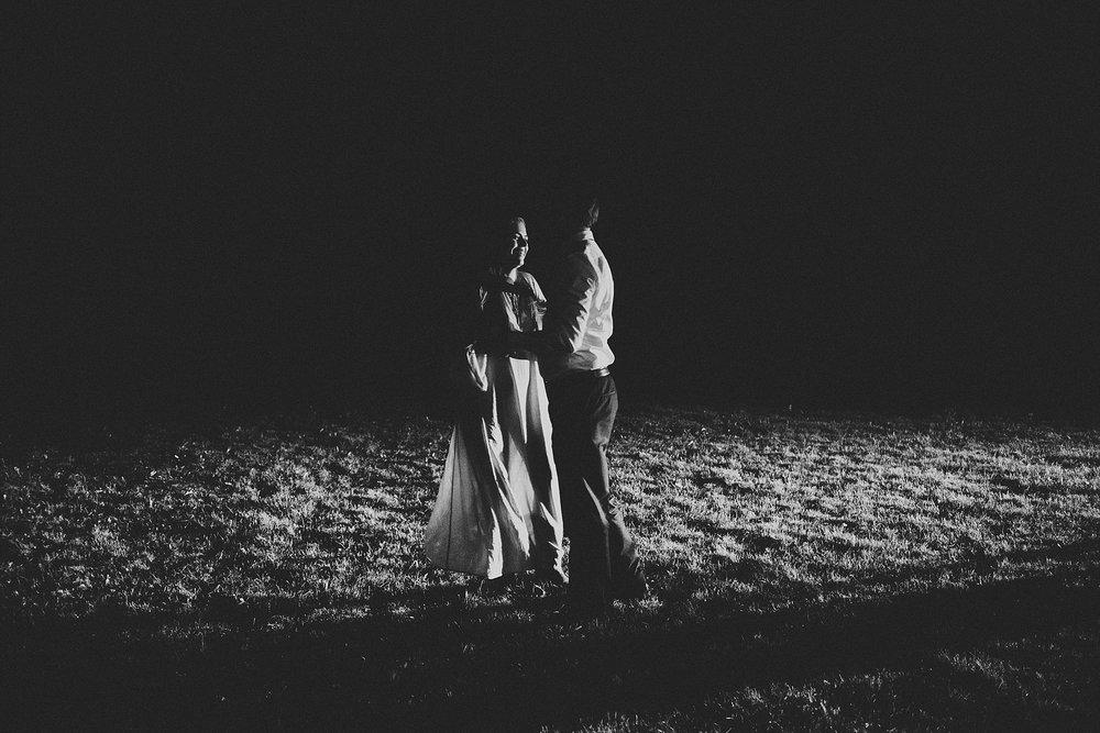 couple bride groom first dance candid kananaskis elopement