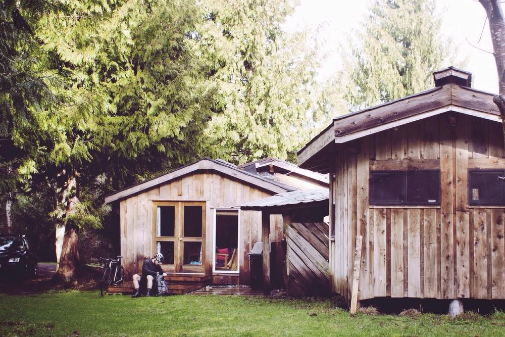 Yellow Plum Cottage // Hornby Island, B.C // Nicholas Kupiak