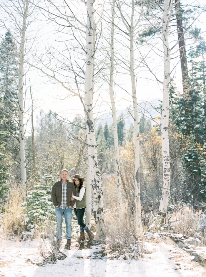 Winter Tahoe Engagement Photography Taralynn Lawton