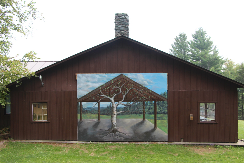 Bethany Birches Camp mural- 16 by 12 ft