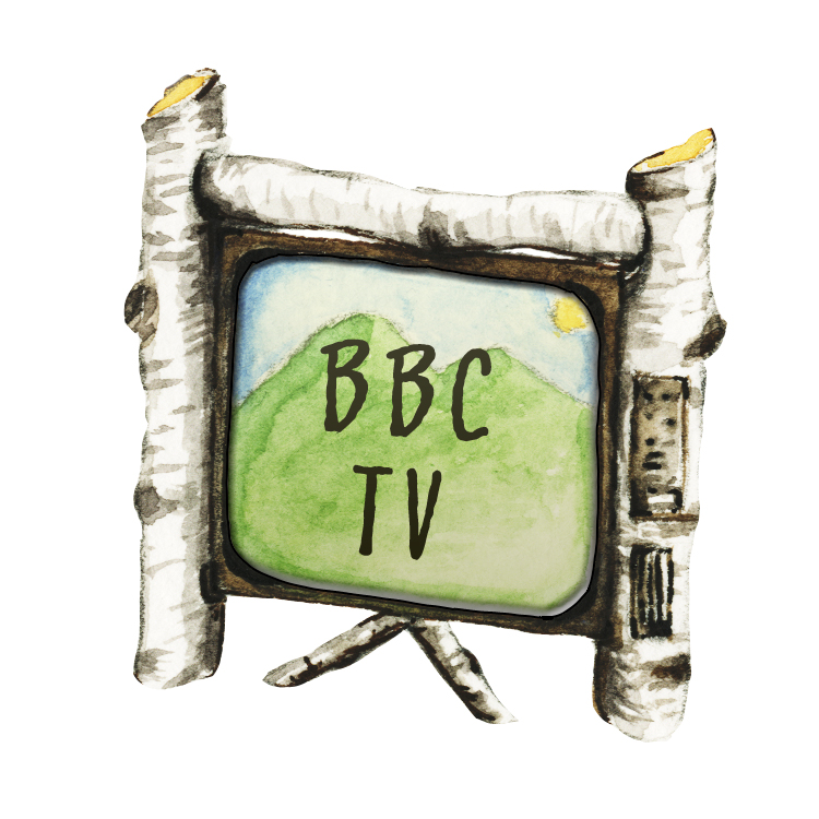 BBC website icon illustration