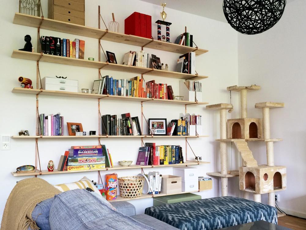 Ikea Ekby Gallo Shelf Hack | CAROLE + ELLIE