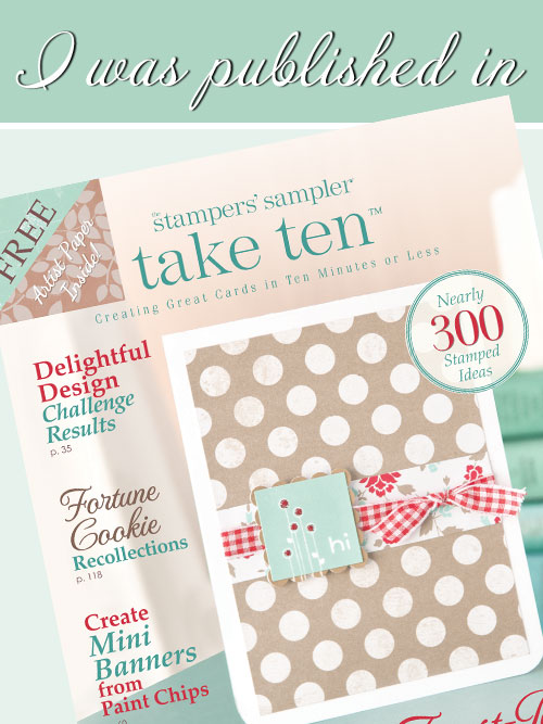 Take Ten - March, April, May 2015