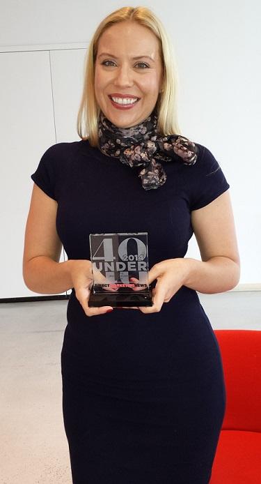 Direct Marketing News 2014 40 Under 40 Award