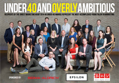 Click  to see Direct Marketing News 40 Under 40 2014 full featured content.