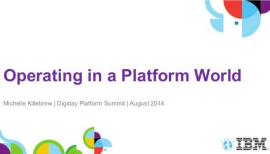 Operating in a Platform World