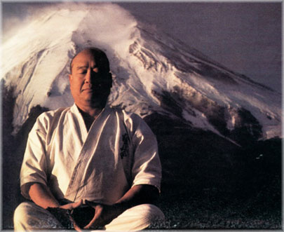 Sosei Mas Oyama, the founder of Kyokushinkai karate