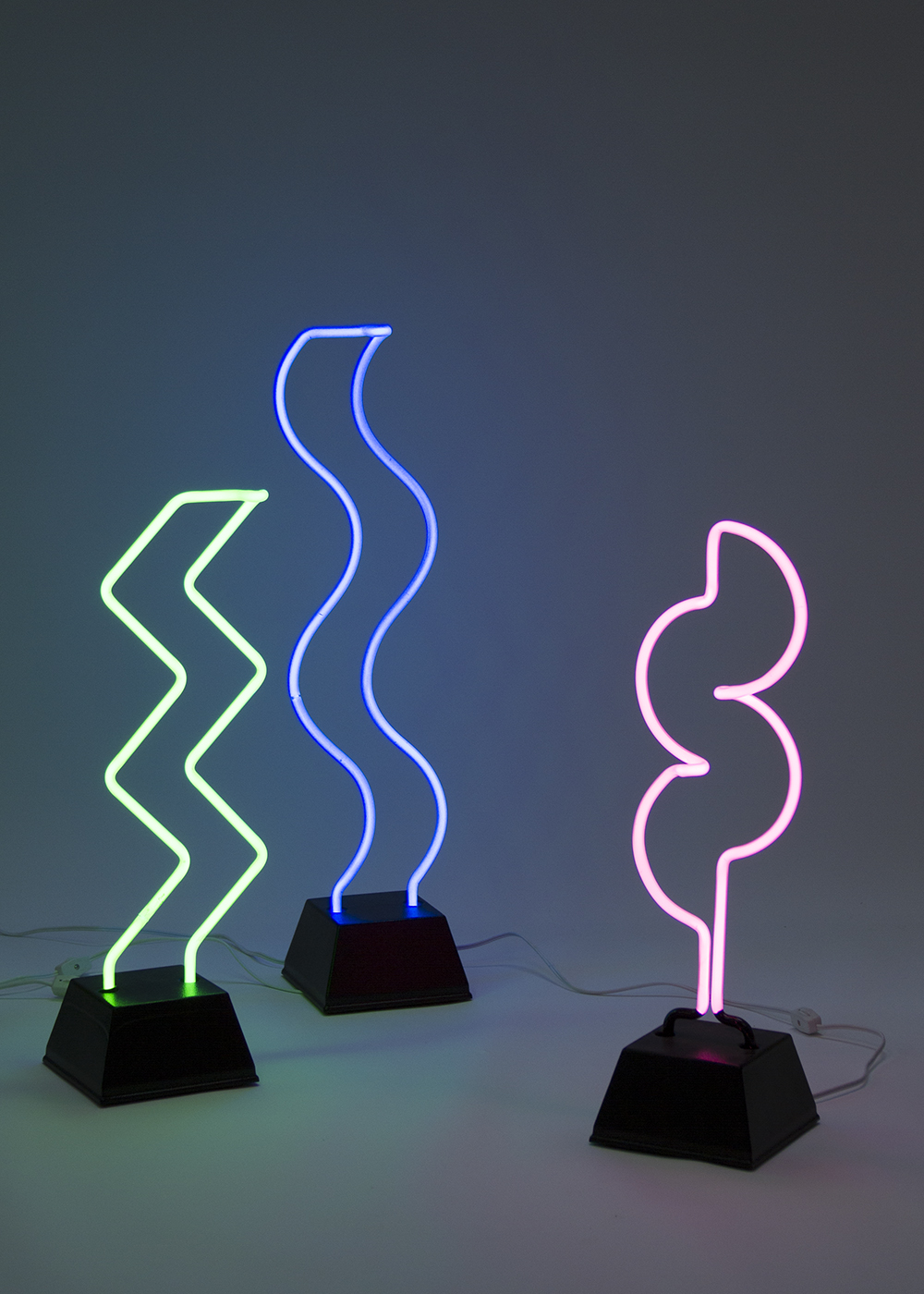 Neon lamps - 18-24 inches tall