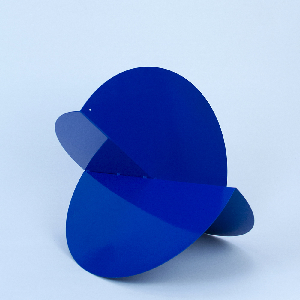 blue double fold blue circle sculpture copy.jpg