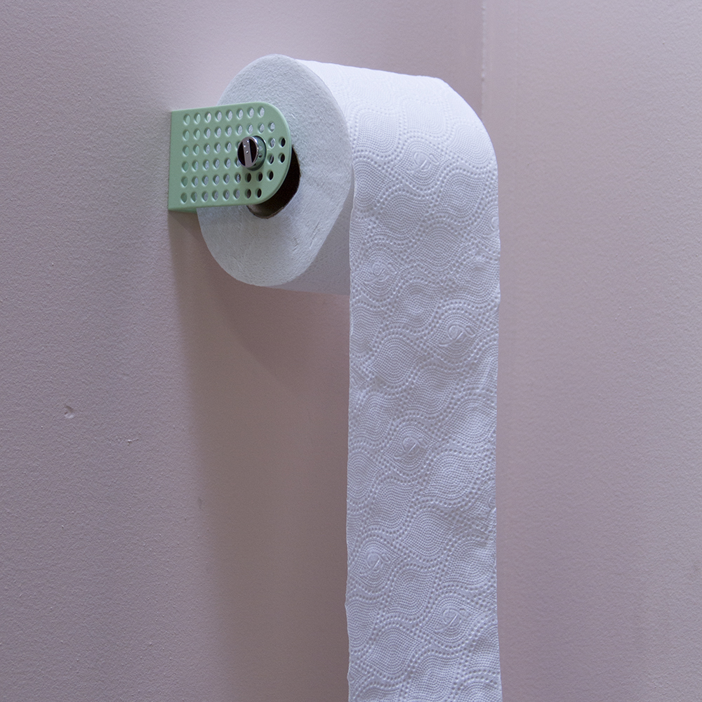 Pop Perf Toilet Paper Holder.