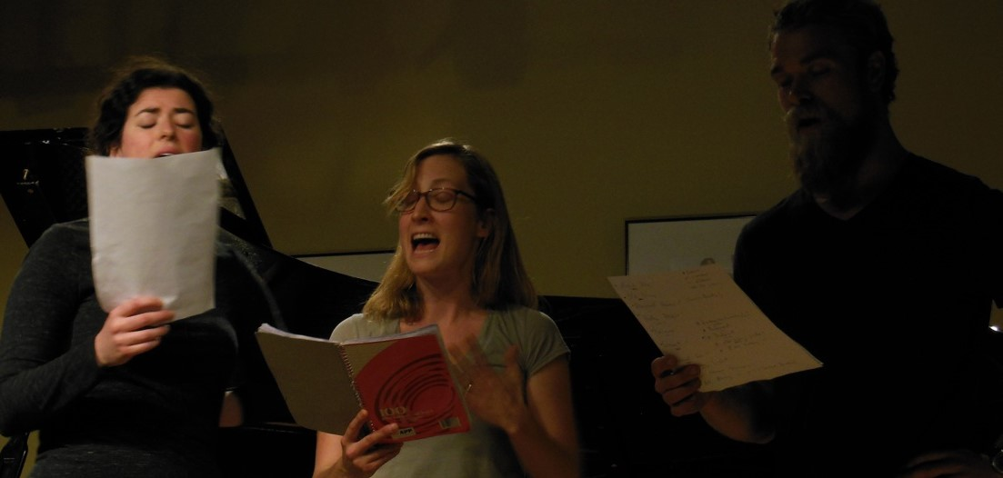 'Songs from the Inside' - singing 'Departures' with Melissa and Ben