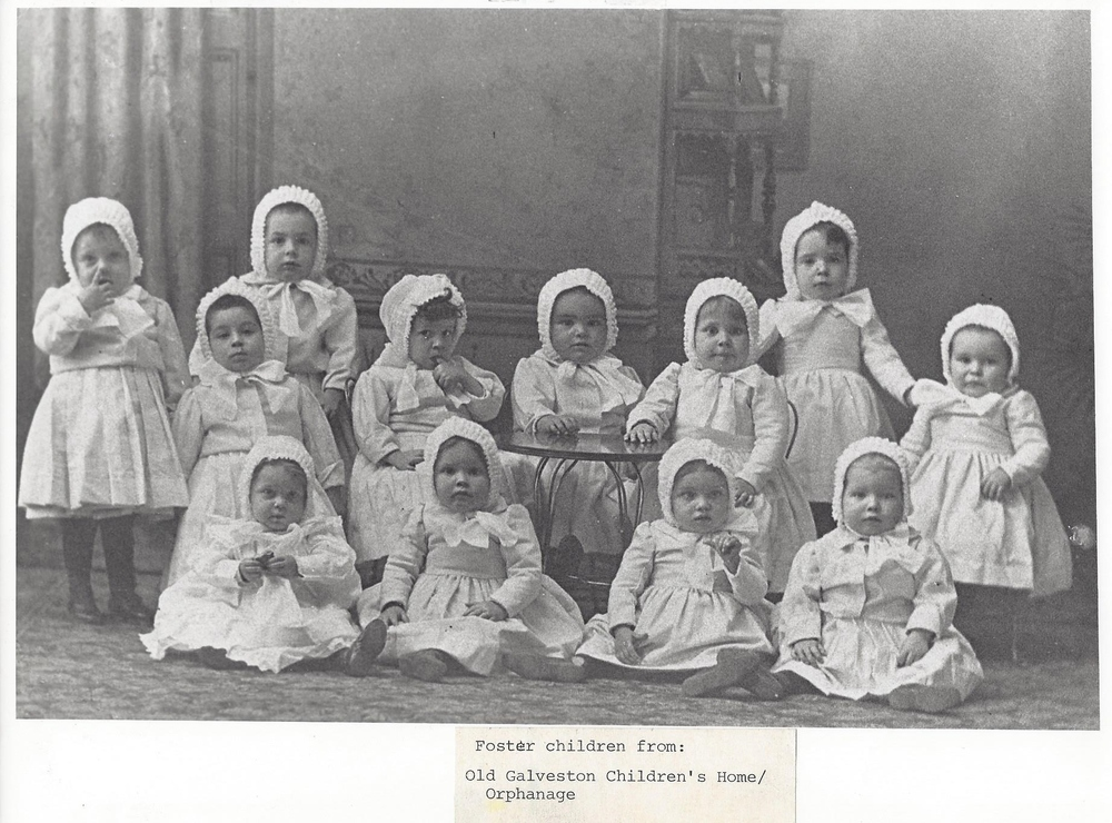 Foster children from the Old Galveston Orphanage