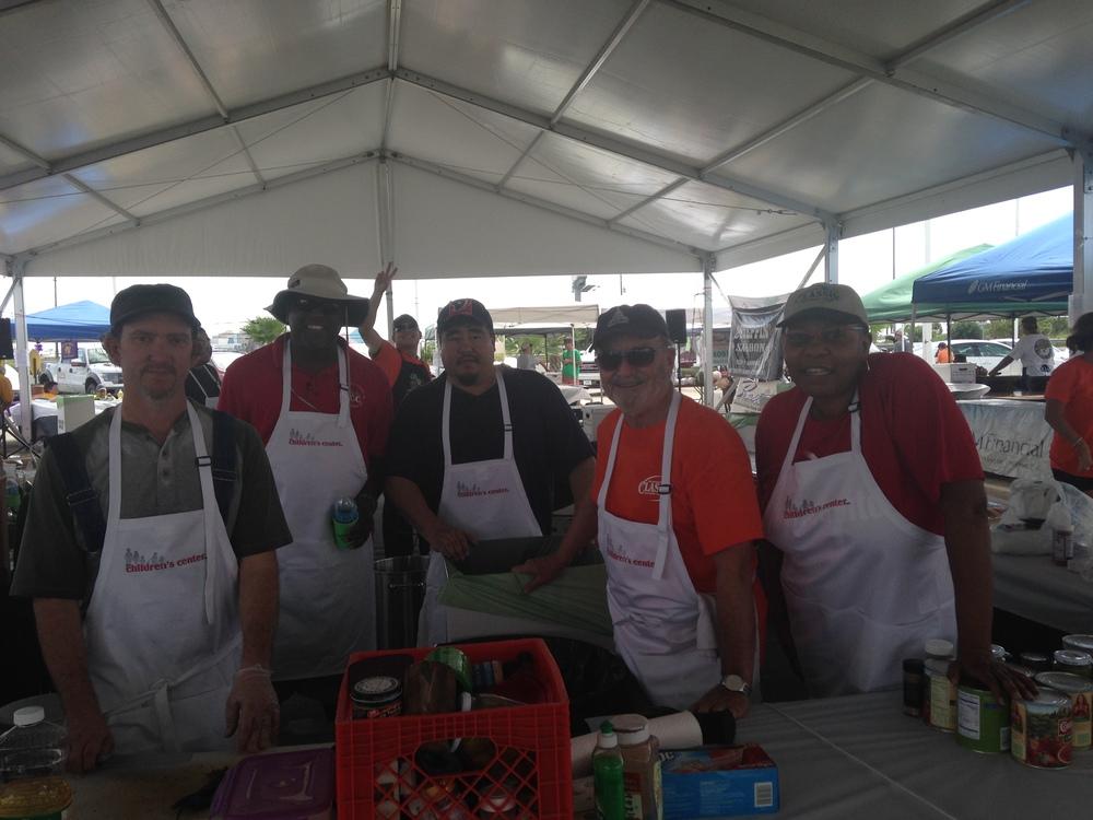2013 Galveston Classic Auto Chili Cook Off TCCI Board Members & Staff