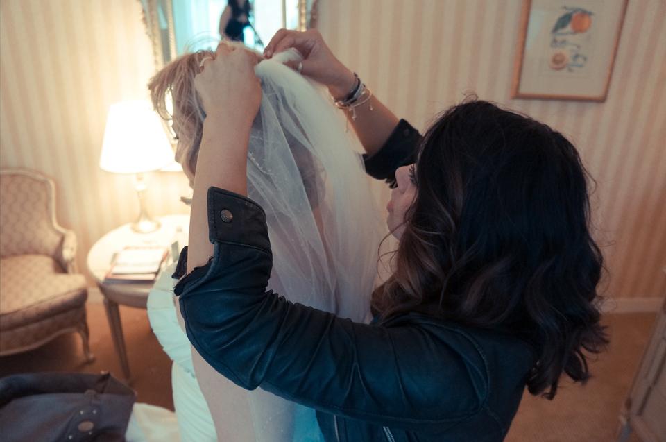 Profresh Style chelsea piers wedding topshop dress photographer weddin