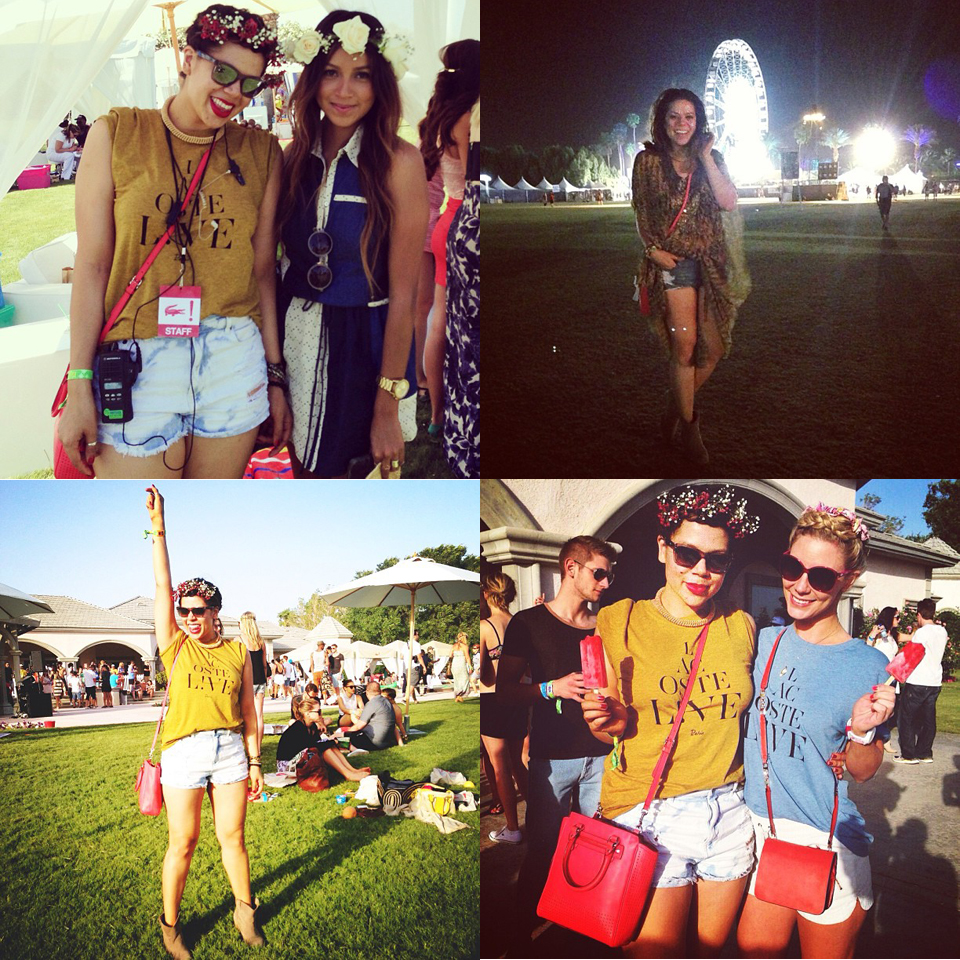 profresh style christina topacio coachella lacoste live desert pool party two