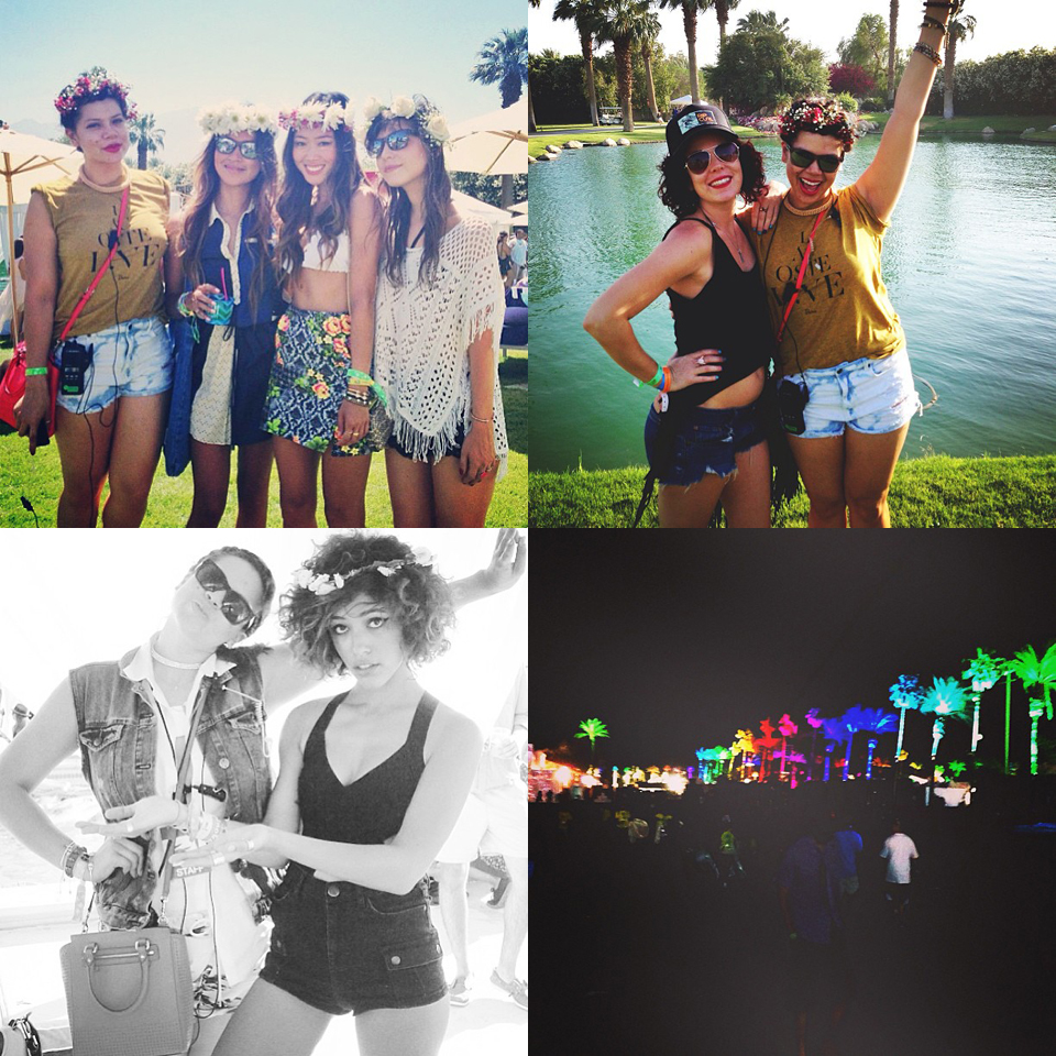 profresh style christina topacio coachella lacoste live desert pool party