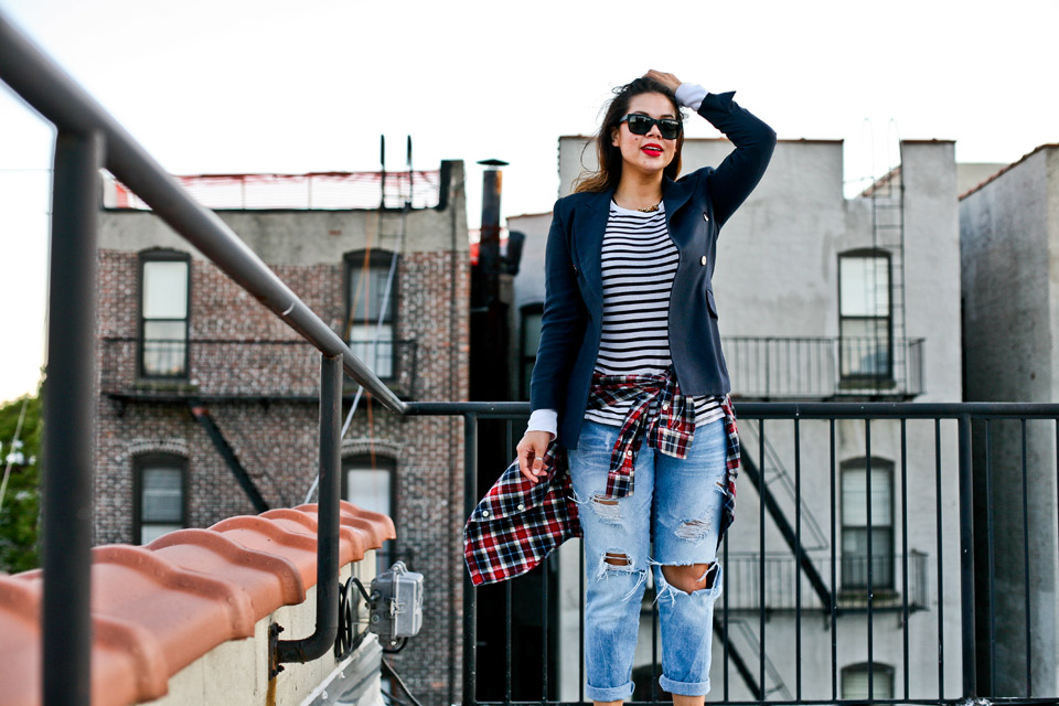 christina-topacio-profresh-style-stripes-plaid-boyfriends-jeans-zara-nyc-blogger-rooftop-photo-8