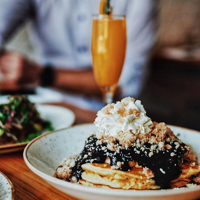 We'll be brunching from 11-3 every Sunday.