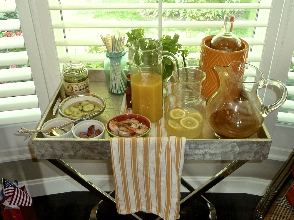 Bloody Mary Table