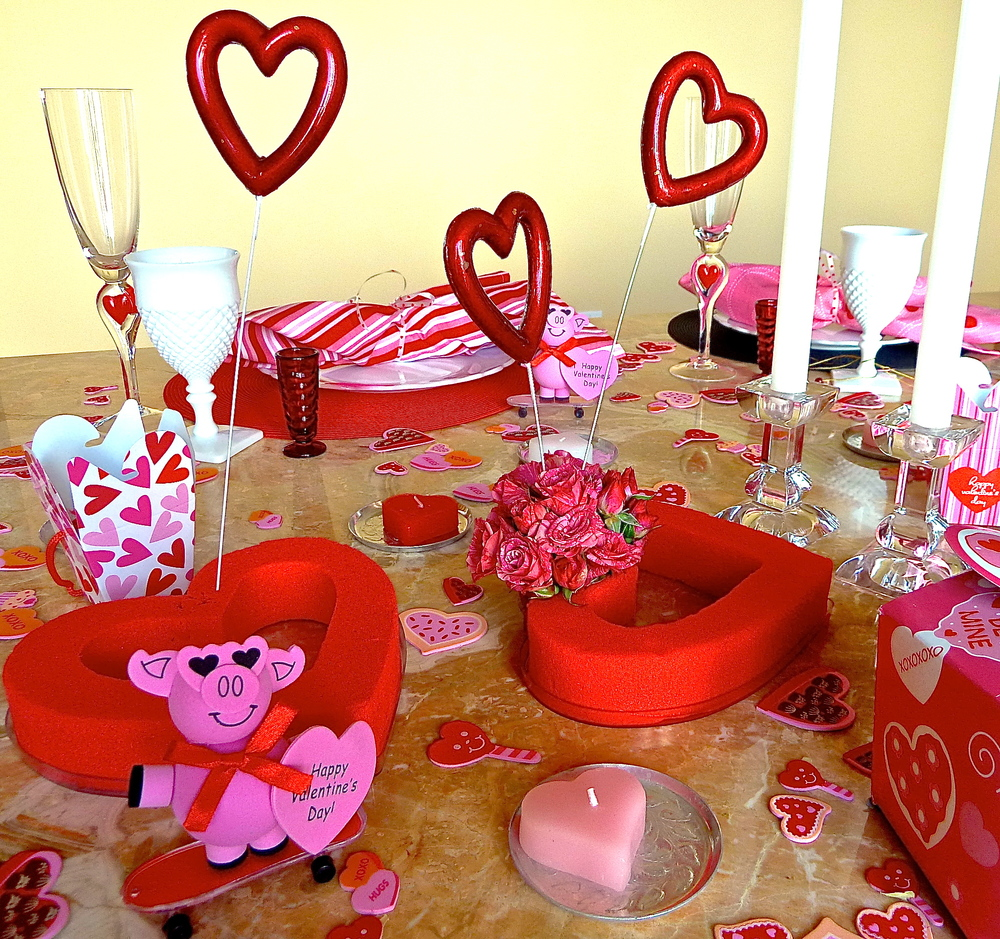 Funky valentine tabletop tips spirited table for Table 52 valentine s day