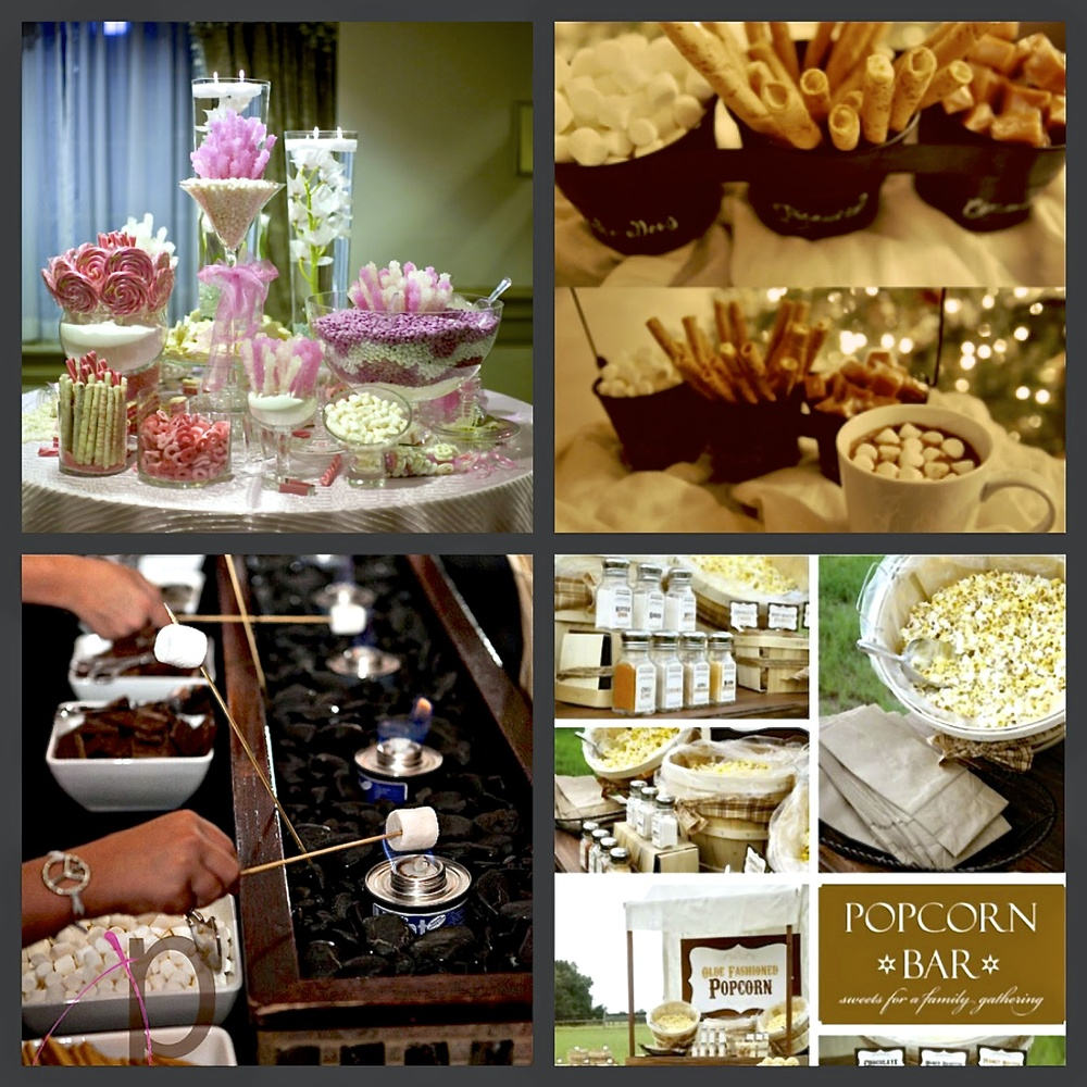 Catering trends for weddings 2014 spirited table for Food bar trends