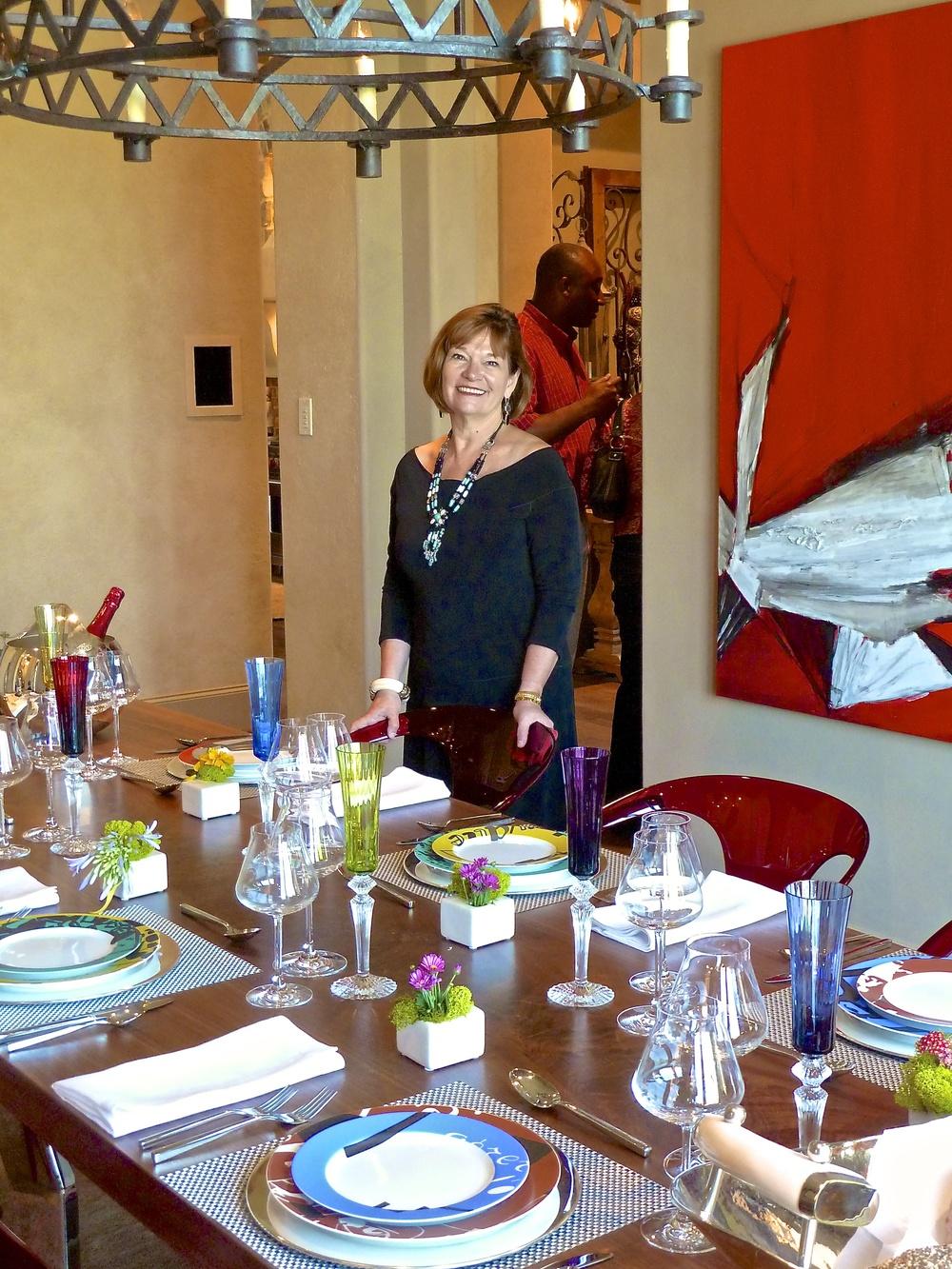 Debra Sabrusula's Table