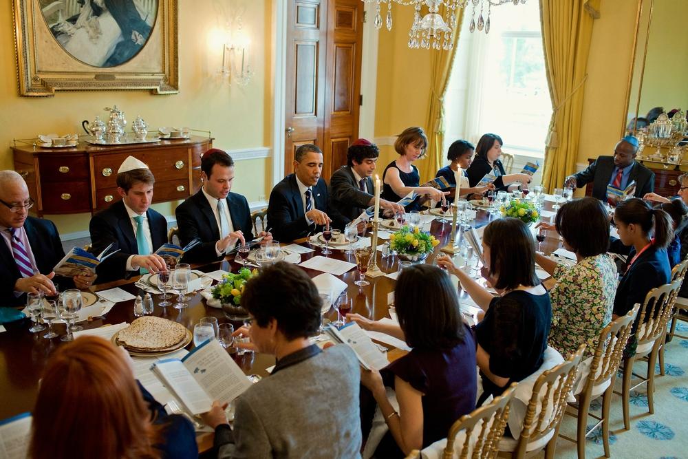 White House Seder Dinner