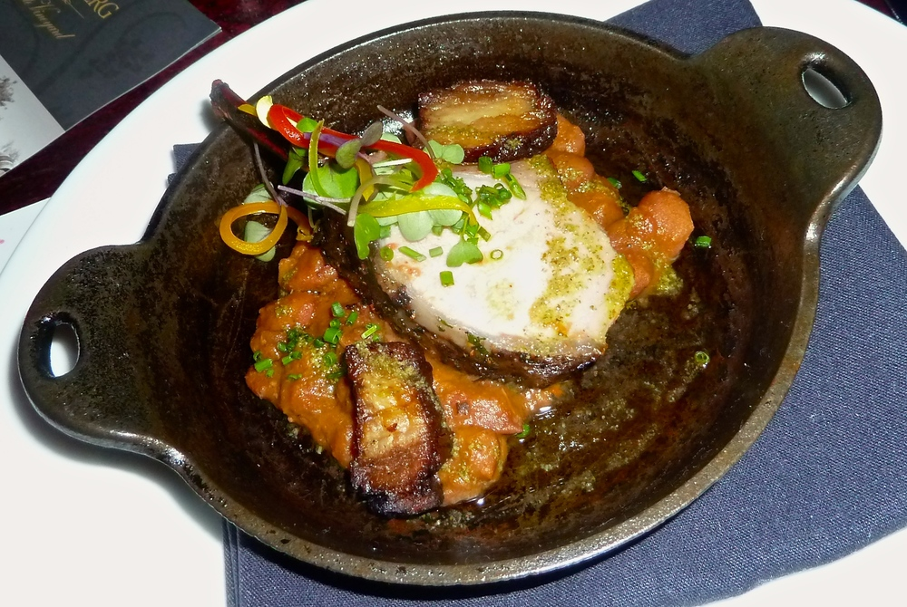 Boar Chop Cassoulet